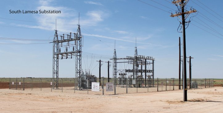 South Lamesa Substation photo