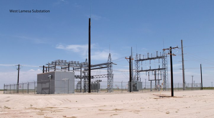 West Lamesa Substation photo